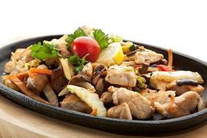 filet de poulet grillé photo