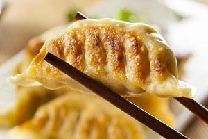 potstickers végétariens asiatiques faits maison