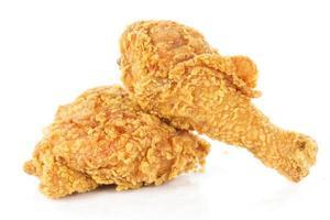 pilons et hanche de poulet frit photo