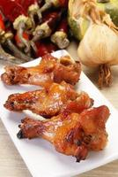 cuisse de poulet grillée photo