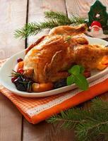 poulet entier grillé photo