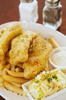 poisson et frites photo