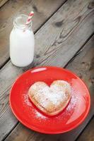 beignet de la Saint-Valentin photo