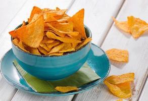 chips de maïs photo