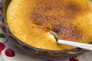 dessert français - crème brûlée