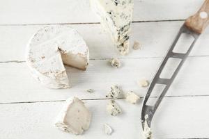 fromage bleu et de chèvre photo
