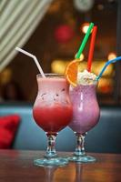 deux cocktails milkshake photo