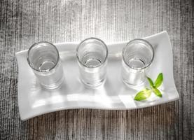 verres de vodka photo