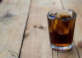 cola avec de la glace