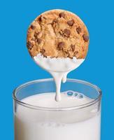 lait de biscuit. photo