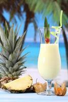 smoothie à l'ananas