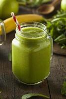 smoothie aux fruits verts bio sain photo