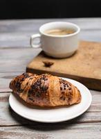 petit déjeuner de café photo