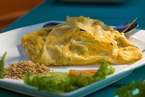 délicieuse cuisine thaïlandaise - pad thai