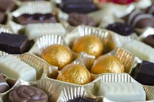 délicieuses pralines au chocolat