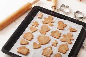 la cuisson des cookies