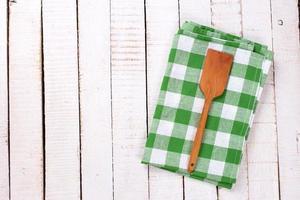 serviette de cuisine photo