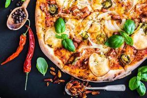 savoureuse pizza