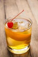cocktail à l'ancienne photo