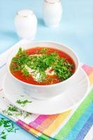 Soupe à la tomate photo