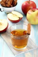 boisson aux pommes photo