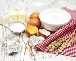 ingrédients de cuisson photo