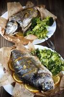 poisson cuit photo