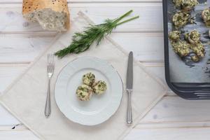 champignons au four photo