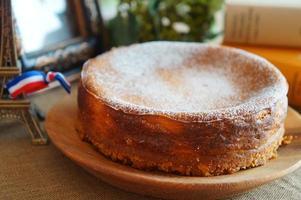 cheesecake au four photo