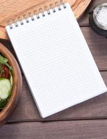 bloc-notes de recette