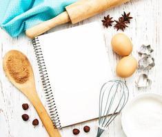 livre de recettes vierge