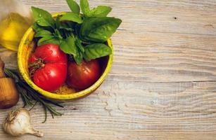 recettes de cuisine d'art photo