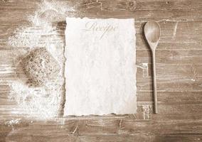 menu. photo