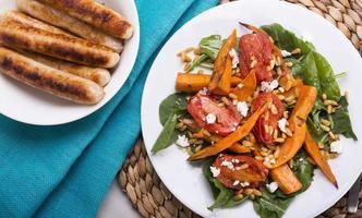 salade de potiron rôti photo