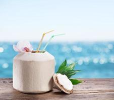 l'eau de noix de coco
