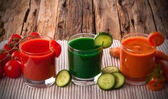 jus de fruits frais photo