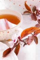 thé aux fruits photo