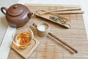 la cérémonie du thé chinois