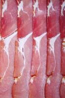 jambon cru (prosciutto di parma italien) photo