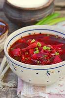 soupe de poisson aux betteraves photo