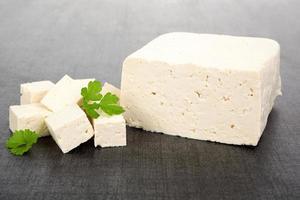 fond de tofu. photo