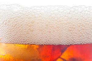 fond de bulle de boisson gazeuse avec de la glace