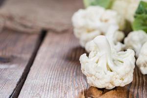 chou-fleur frais photo