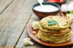 tortillas de chou-fleur mini photo