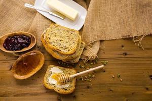 pain au levain photo