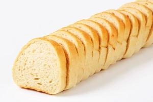 baguette en tranches photo