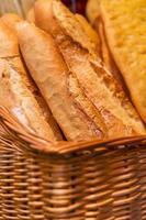 Baguette française photo