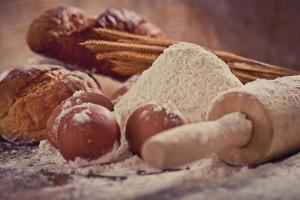 farine et pain photo