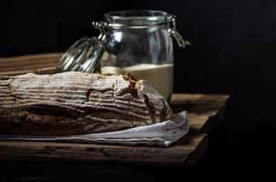 pain au levain fait maison photo