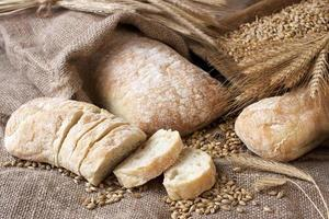 variété de pain photo